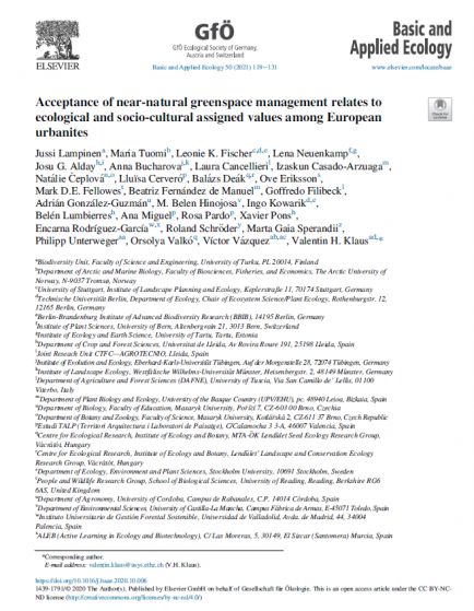 Acceptance_of_near-natural_greenspace_management_among_European_urbanites_Basic_and_Applied_Ecology_Publicaciones_Servicios_Ambientales_Coccosphere_Environmental_Analysis
